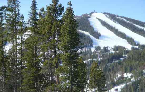 Ski runs at Pal.