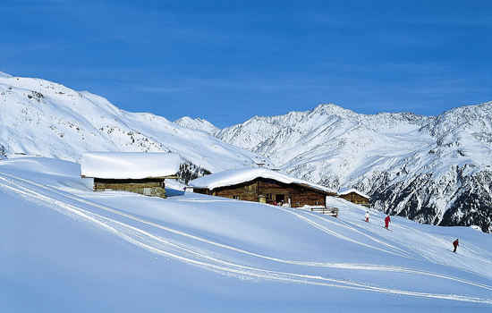 Wintersports in Andorra.