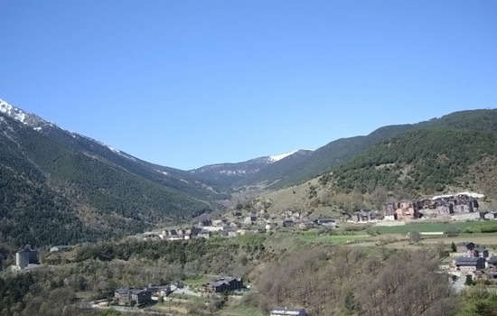 Andorran mountains.