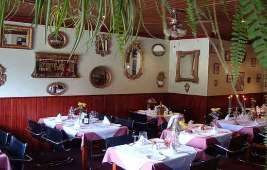 An inside view of our Restaurant.