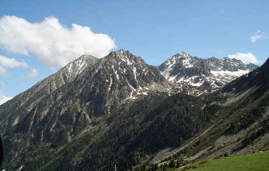 The French part of Andorra, Pas De La Casa.